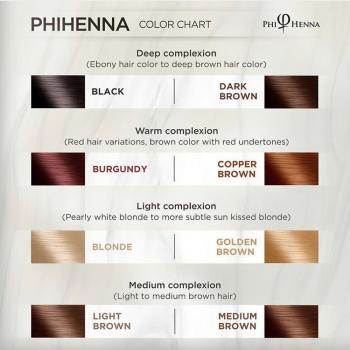 PhiHenna Copper Brown
