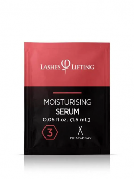 Lashes Lifting Moisturising Serum Sachets 3 1,5ml 10pcs