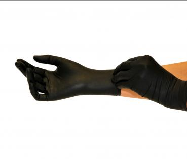Nitrile gloves black 100 pcs