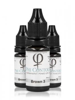 PhiContour Brown 3 Pigment 10ml