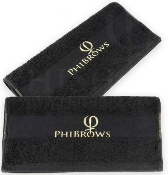 PhiBrows Towel black